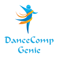 Dance-Comp-Genie_200x200-square-transparent_BLUE-TEXT